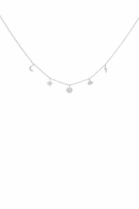 Rayana Silver Necklace