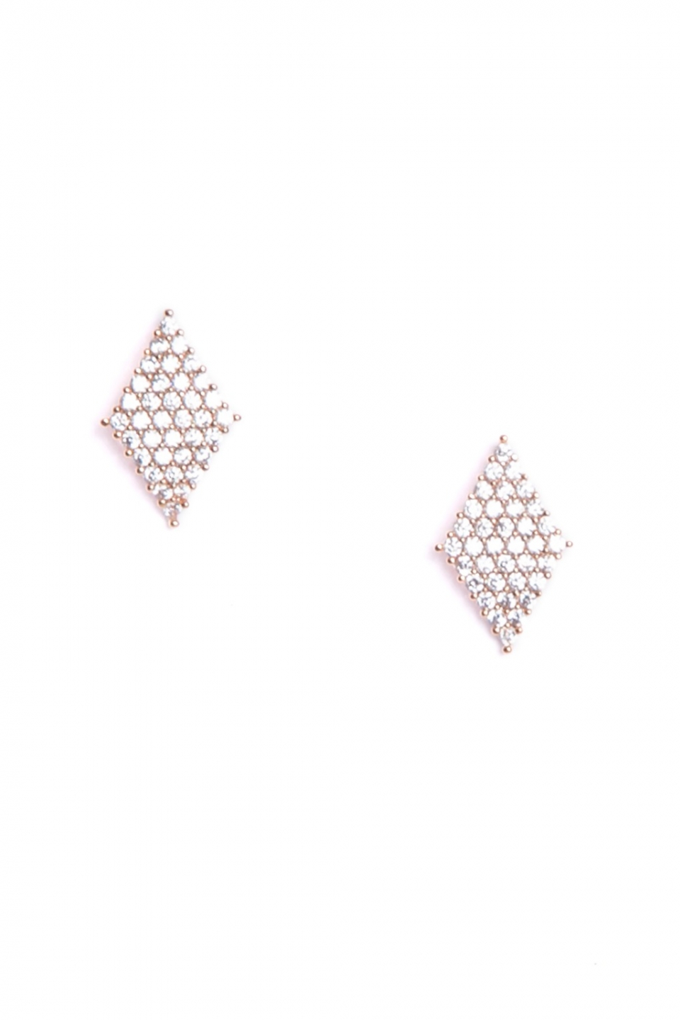 Ica Rose Gold Earrings