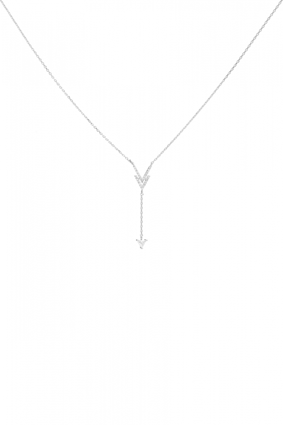 Avalyn Silver Necklace