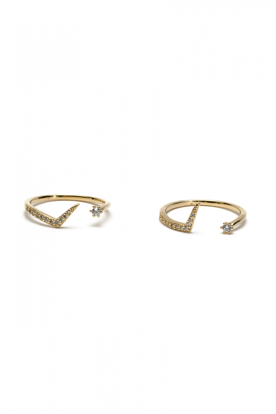 Marta Gold Ring Duo