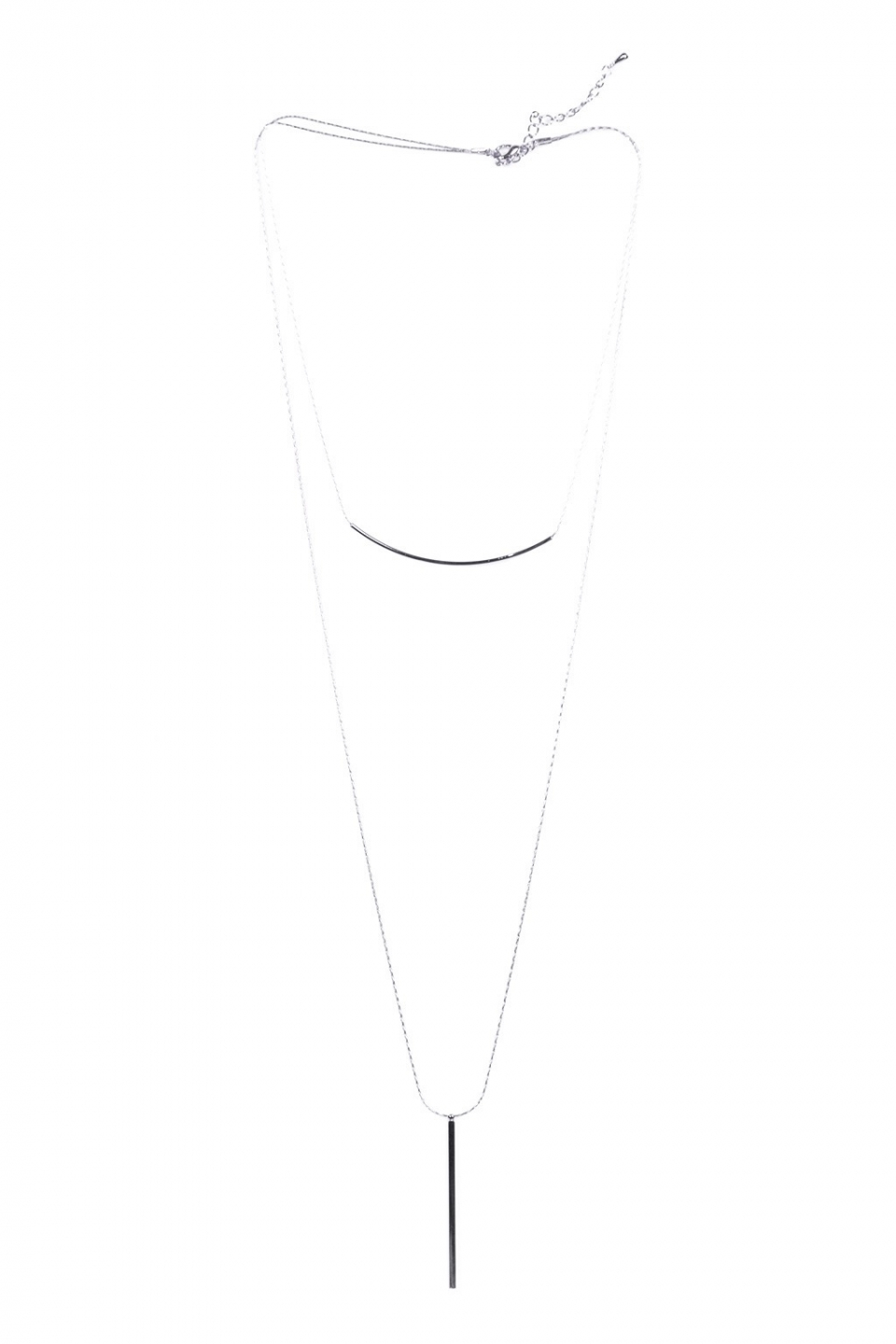 Abhy Silver Necklace
