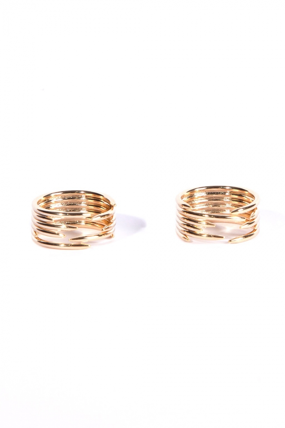 Cadha Gold Ring Duo