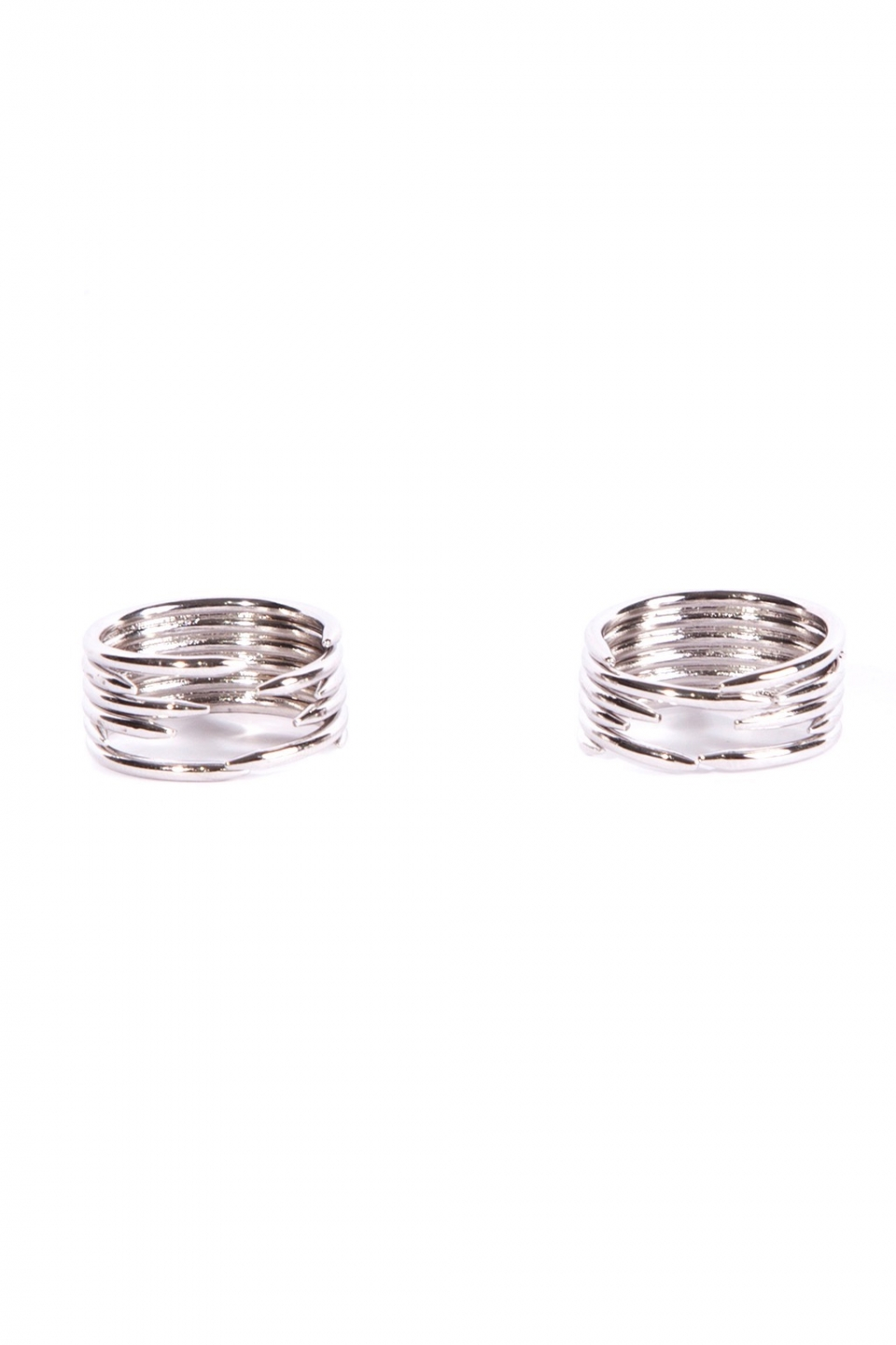 Cadha Silver Ring Duo